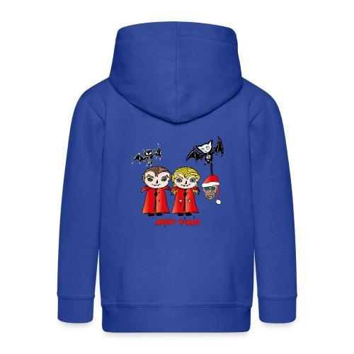 Frohe Weihnachten - Kinder Premium Kapuzenjacke