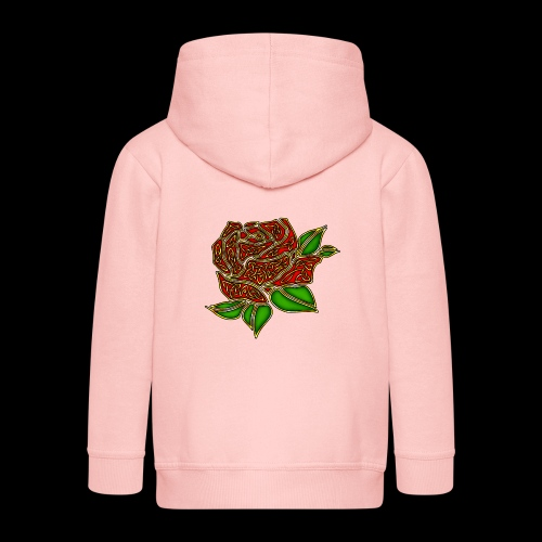 Celtic Rose - Kids' Premium Hooded Jacket
