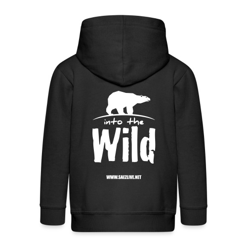 Into the wild (version light) - Veste à capuche Premium Enfant