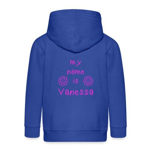 VANESSA MY NAME IS - Veste à capuche Premium Enfant