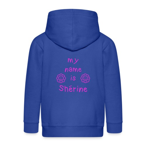 SHERINE MY NAME IS - Veste à capuche Premium Enfant