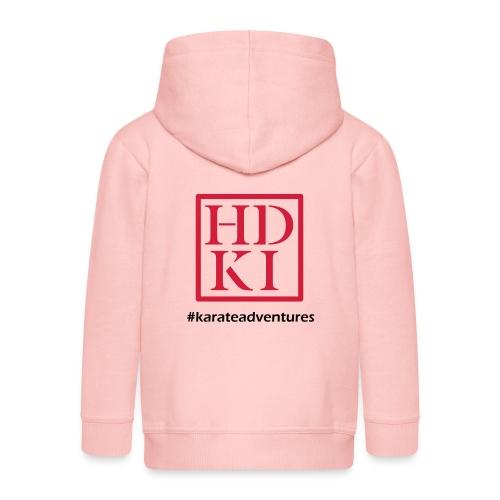 HDKI karateadventures - Kids' Premium Zip Hoodie