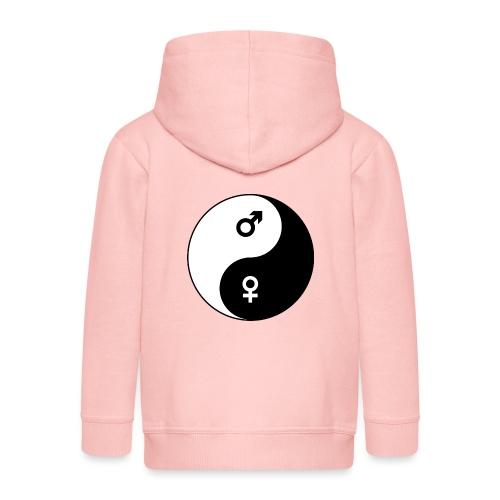 yin yang - Veste à capuche Premium Enfant