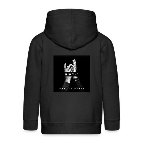 Love OUtta barz - Kids' Premium Zip Hoodie