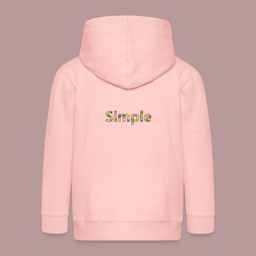 Simple - Veste à capuche Premium Enfant