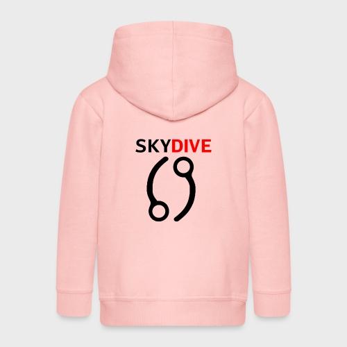 Skydive Pin 69 - Kinder Premium Kapuzenjacke