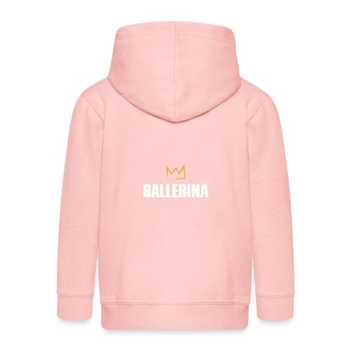 Ballerina - Kinder Premium Kapuzenjacke