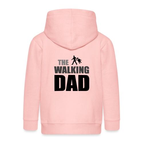 the walking dad auf dem Weg in die lustige Bar - Kinder Premium Kapuzenjacke