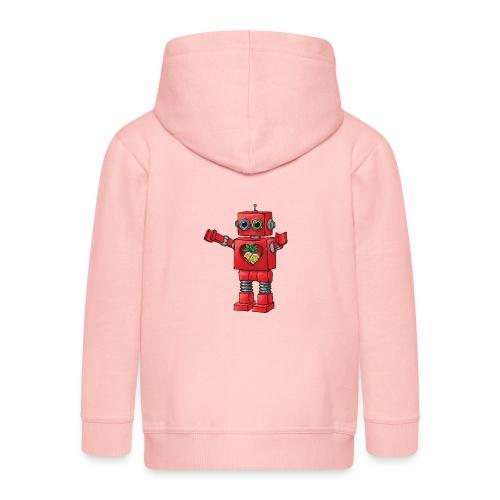 Brewski Red Robot IPA ™ - Kids' Premium Zip Hoodie