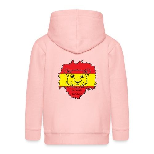 Lion supporter Espagne - Veste à capuche Premium Enfant