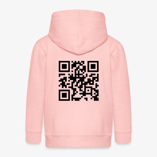 QR Code - Kids' Premium Zip Hoodie