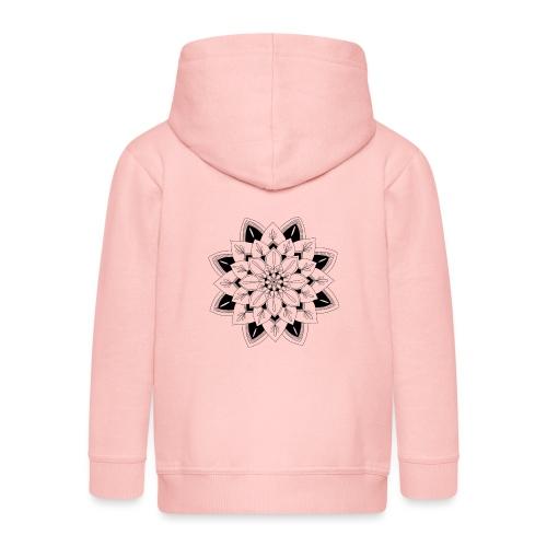 Mandala interior - Chaqueta con capucha premium niño