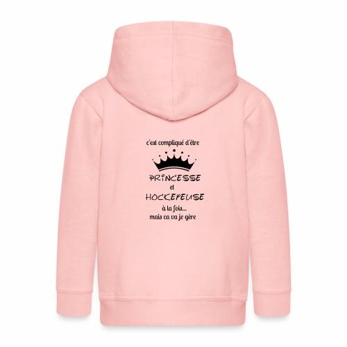 Princesse et Hockeyeuse - Veste à capuche Premium Enfant