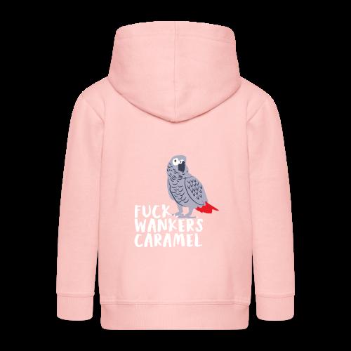 Fluchender Papagei | Vogel lustig Inspiration - Kinder Premium Kapuzenjacke