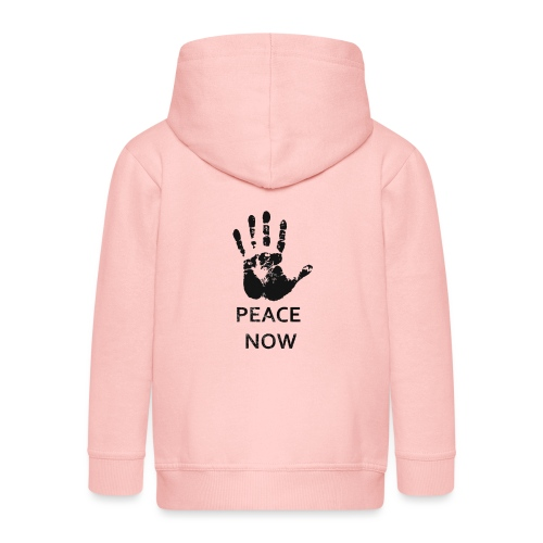 Peace Now - Kids' Premium Zip Hoodie