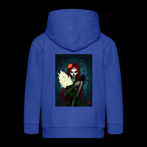 Death and lillies - Kids' Premium Hooded Jacket
