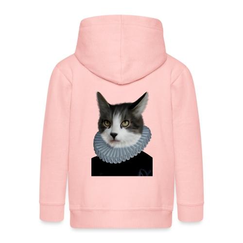 Noble Cat - Kinder Premium Kapuzenjacke