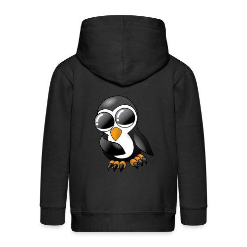 Pengu der keine Pinguin - Kinder Premium Kapuzenjacke