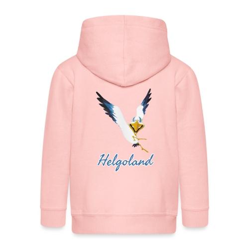 Lachmöwe Helgoland - Kinder Premium Kapuzenjacke