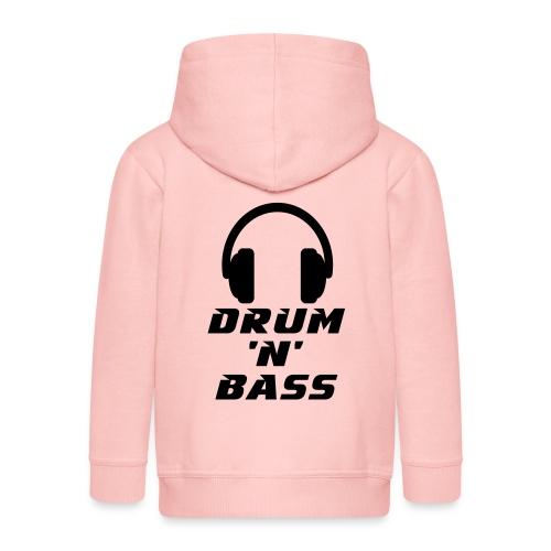 Drum 'n' Bass Music - Kinder Premium Kapuzenjacke