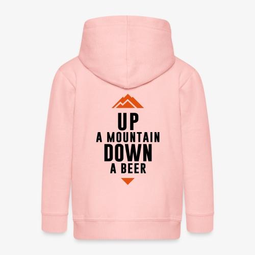 UP Mountain Down Beer - Veste à capuche Premium Enfant
