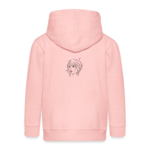 taytay taylor pop swift - Rozpinana bluza dziecięca z kapturem Premium