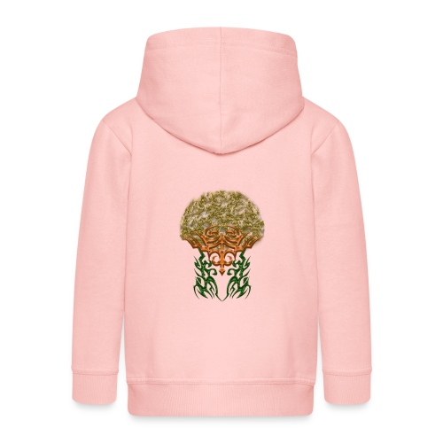 Golden Brain - Kinder Premium Kapuzenjacke