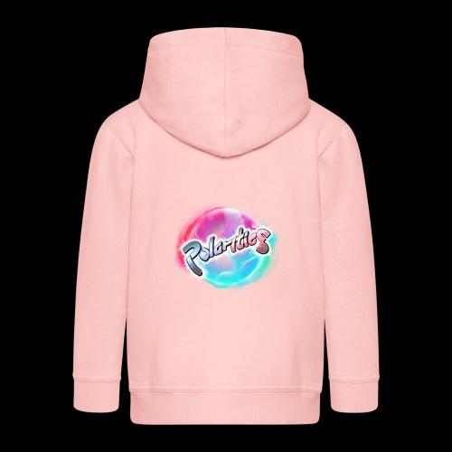 Polarities Logo - Kids' Premium Zip Hoodie