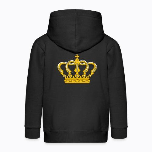 Golden crown - Kids' Premium Zip Hoodie