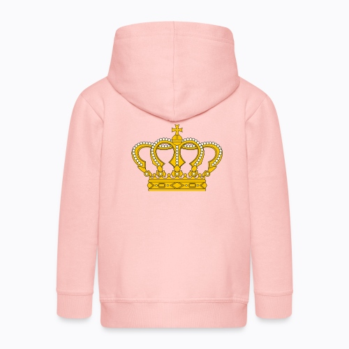 Golden crown - Kids' Premium Zip Hoodie