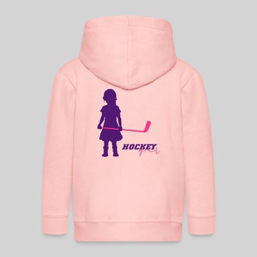 Hockey Girl I - Kinder Premium Kapuzenjacke
