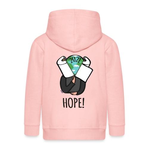 68 hope2021 - Kinder Premium Kapuzenjacke