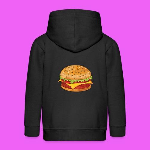 hamburguesa - Chaqueta con capucha premium niño