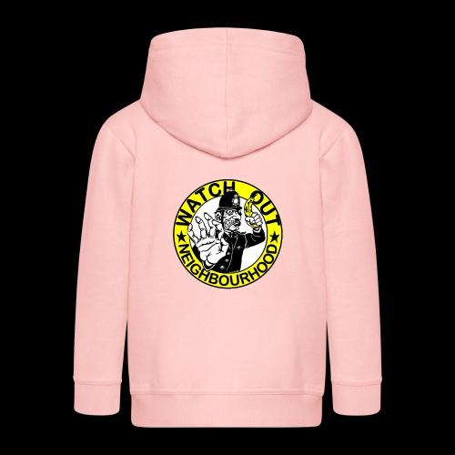 Neighbourhood Watch.. Out - Kids' Premium Hooded Jacket