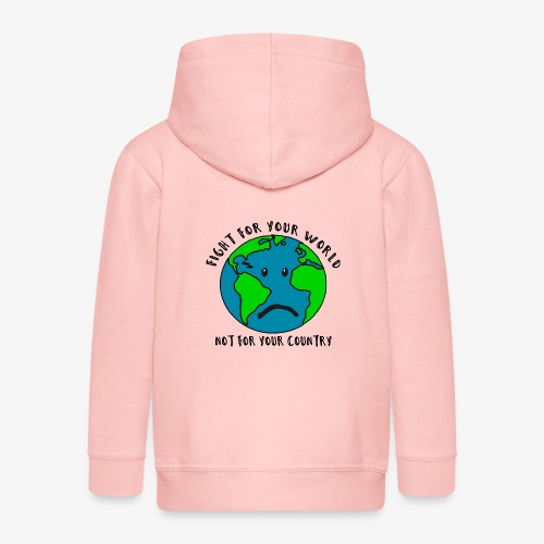Fight for your world - Kinder Premium Kapuzenjacke