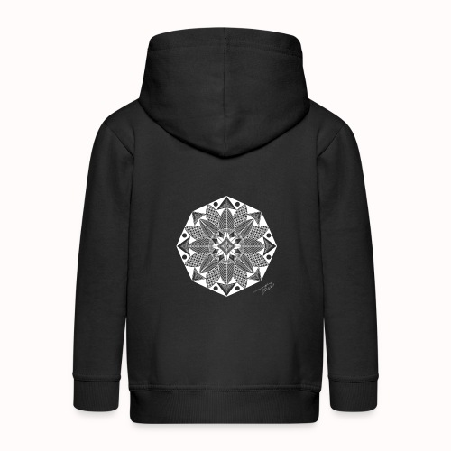 Flower - Kids' Premium Zip Hoodie