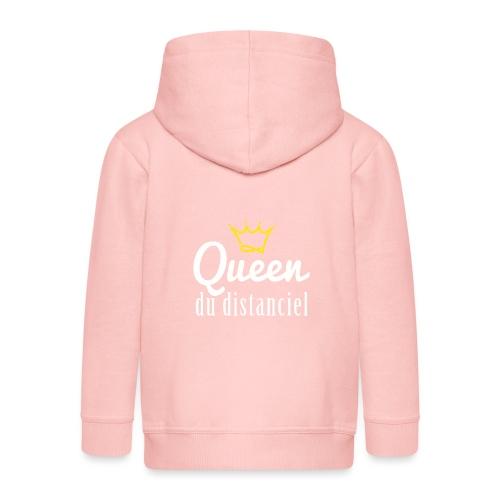 Queen du distanciel - Veste à capuche Premium Enfant