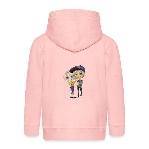 Emily & Lucas - Kinder Premium Kapuzenjacke