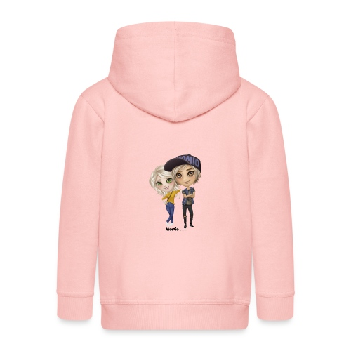 Emily & Lucas - Kinderen Premium jas met capuchon
