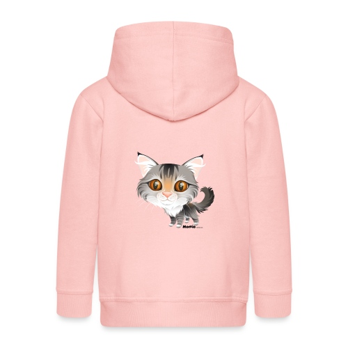 Katt - Premium Barne-hettejakke