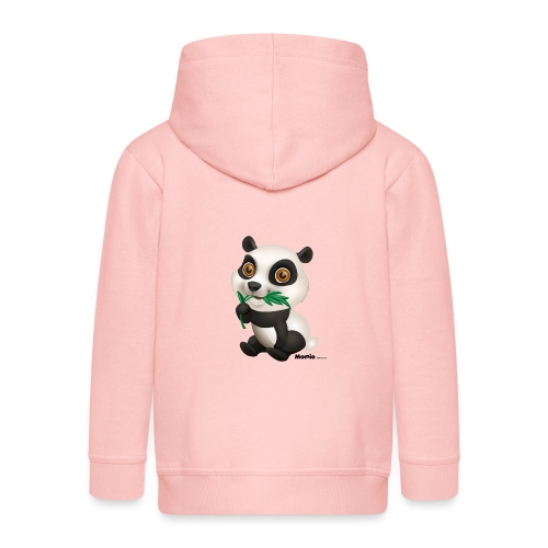 Panda - Kinder Premium Kapuzenjacke