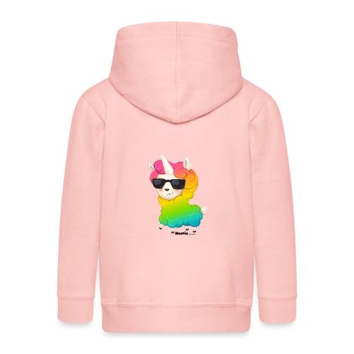 Rainbow animo - Premium Barne-hettejakke