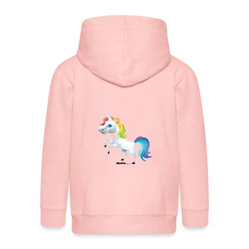 Regenboog eenhoorn - Kinderen Premium jas met capuchon