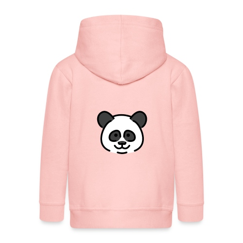 panda head / cabeza de panda - Chaqueta con capucha premium niño