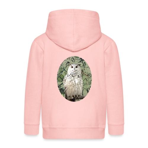 Snowy Owl Magical Hedwig Gift - Kids' Premium Zip Hoodie