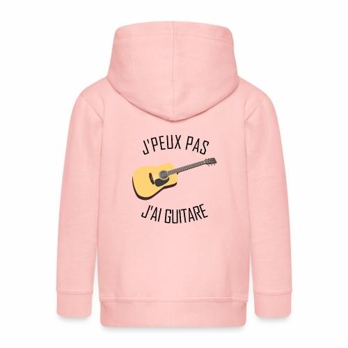 J'peux pas j'ai Guitare - Veste à capuche Premium Enfant