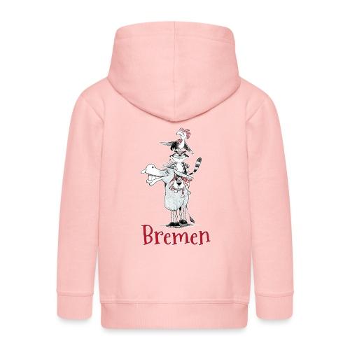 Bremer Stadtmusikanten - Kinder Premium Kapuzenjacke