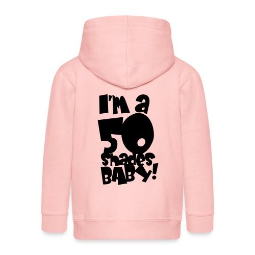 50 shades - Kids' Premium Hooded Jacket