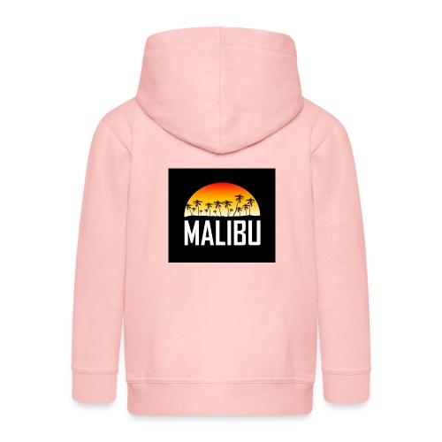 Malibu Nights - Kids' Premium Zip Hoodie