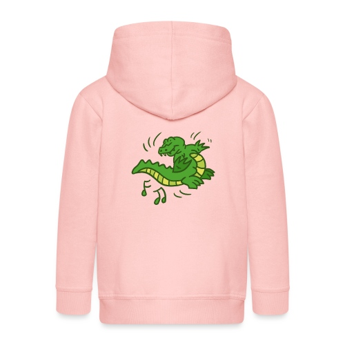 dancing crocodile - Premium-Luvjacka barn